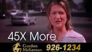 Louisiana 18 Wheeler & Wrongful Death Attorney - Gordon McKernan - 45 X more