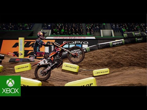Monster Energy Supercross - The Official Videogame | Official Announce Trailer