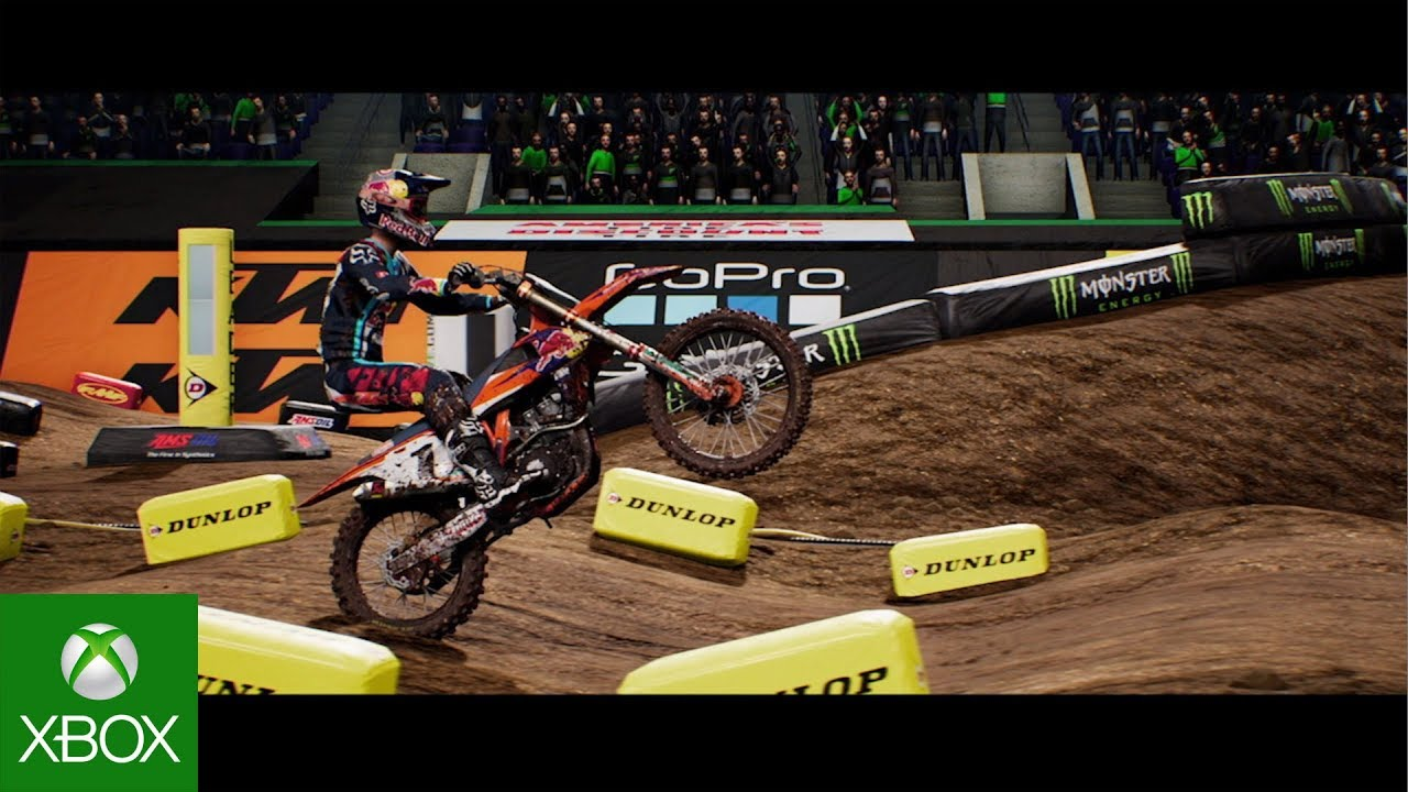 Monster Energy Supercross   The Official Videogame | Official Announce  Trailer