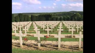 The Douaumont Ossuary & National Cemetery, Douaumont, nr Verdun, France.