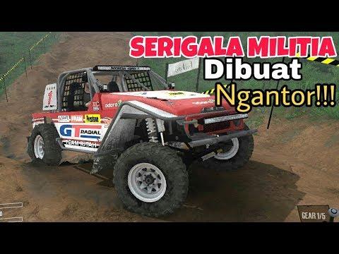 Mobil SPEED OFFROAD dibuat Ngantor!!! // Spintires