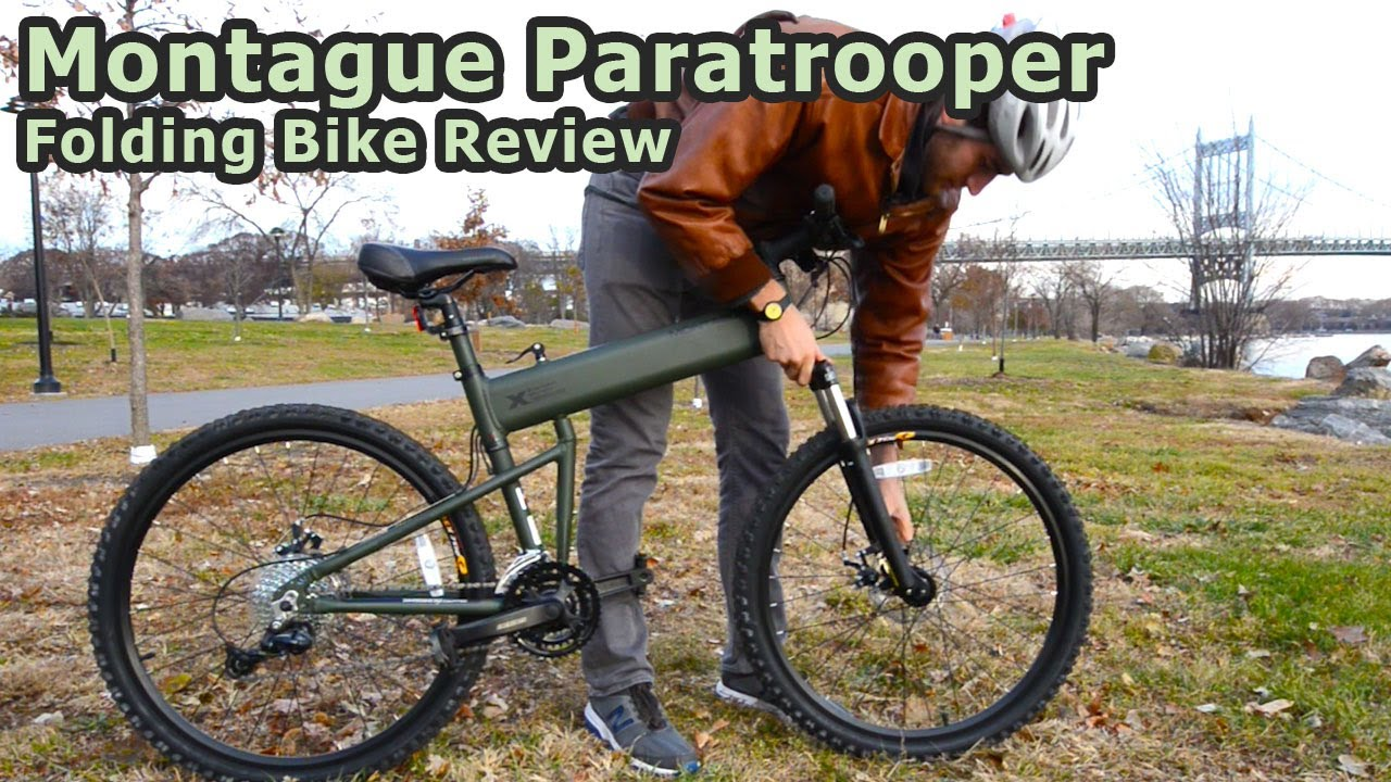 Montague paratrooper folding bike review doovi for The montague