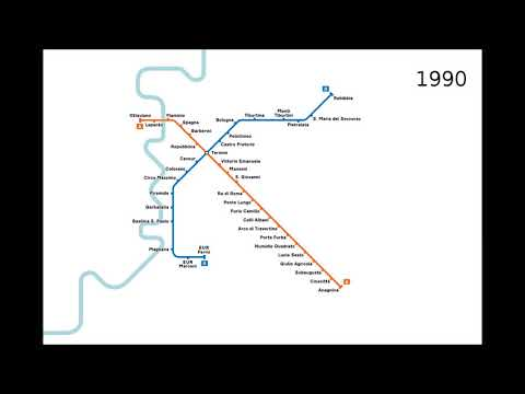 Timelapse Metro Roma
