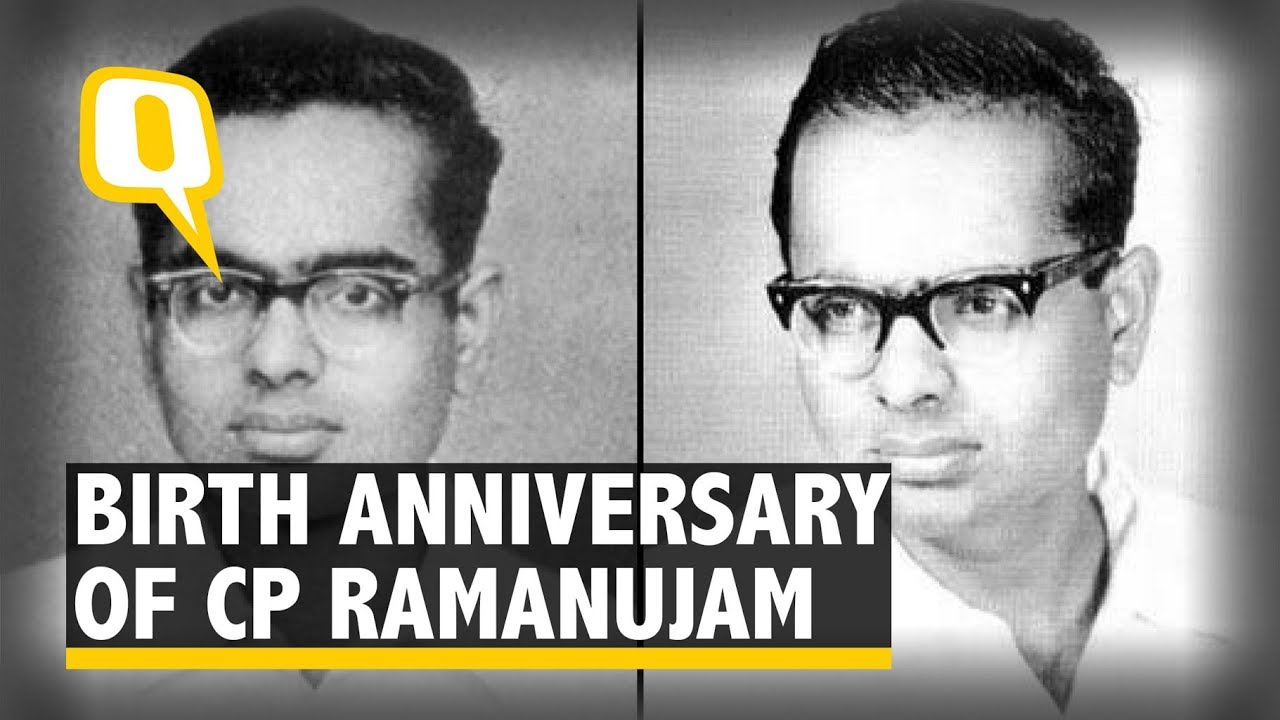 Remembering CP Ramanujam, the Man Who Created Magic with Math | The ...