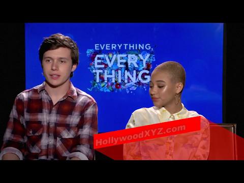 Everything Everything Interview Amandla Stenberg, Nick Robinson
