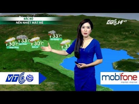 Dự báo thời tiết 10.08.2016: Bắc bộ mưa dông, Nam bộ sấm sét  | VTC