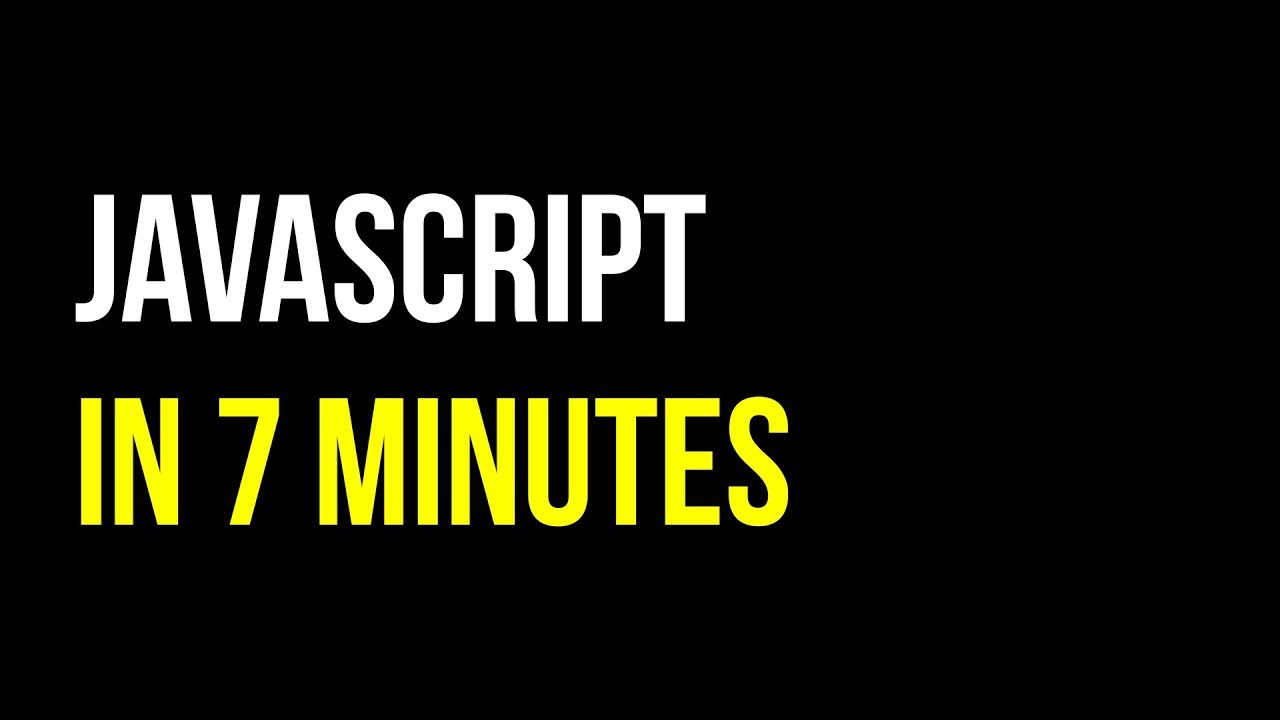 Learn JavaScript in 7 minutes | Create Interactive Websites | Code in 5 |Video