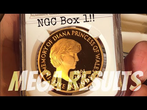 Its Mega Results time NGC Graded Coins - via Heritage Auctions UK | Box 1