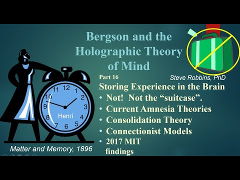 Bergson's Holographic Theory - 16 - Storing Experience (Not) in the Brain