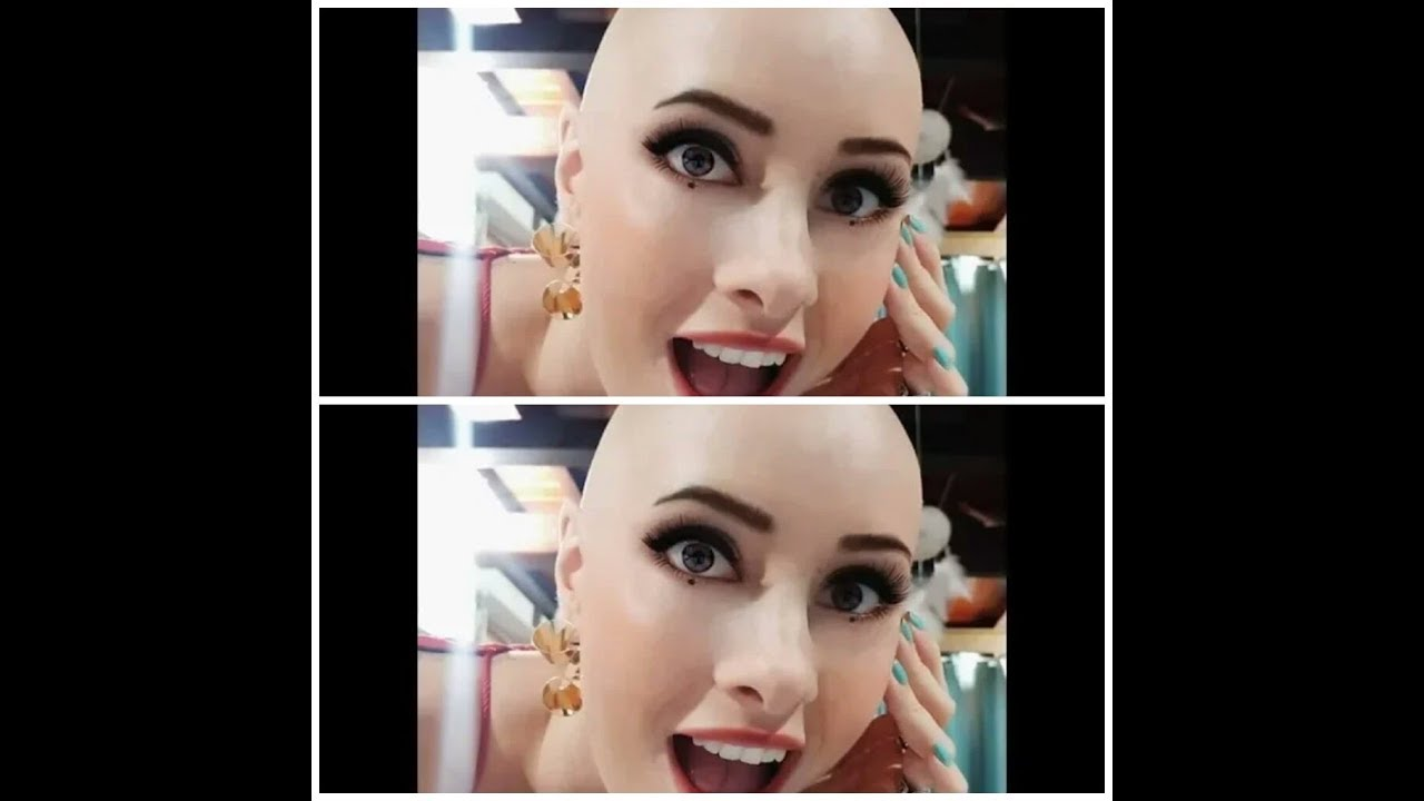 10 Beautiful Womens Headshave Styles 2019 Womens Head Shave Style New Youtube