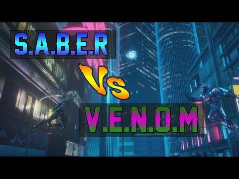 V.E.N.O.M VS S.A.B.E.R EPIC BATTLE - MOBILE LEGENDS ANIMATION