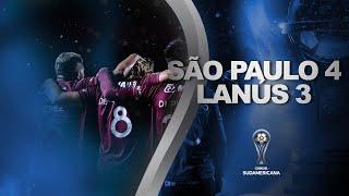 São Paulo vs. Lanús [4-3] | RESUMEN | Segunda Fase | CONMEBOL Sudamericana