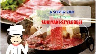 Best-Ever SUKIYAKI STYLE BEEF