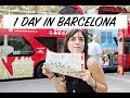 One day in Barcelona. What to do in Barcelona in 24 hours.