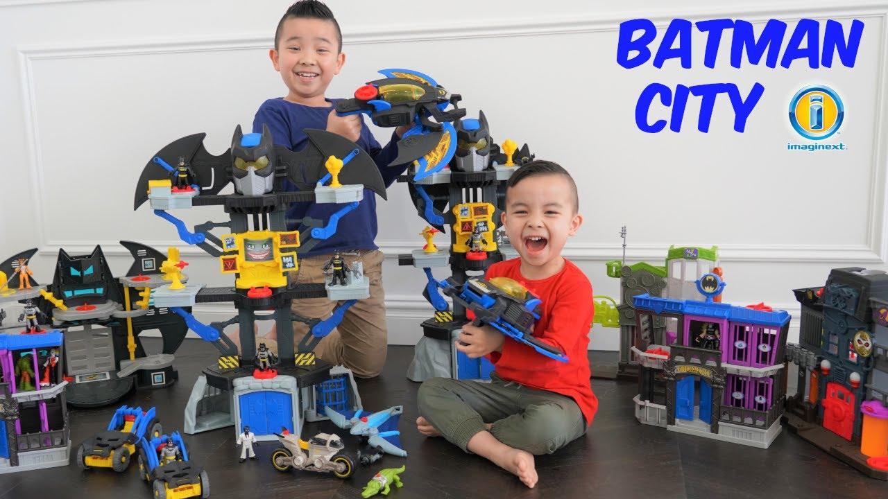 Kaison Built A Batman City CKN