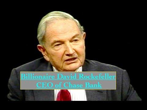 Billionaire David Rockefeller Interview 1998