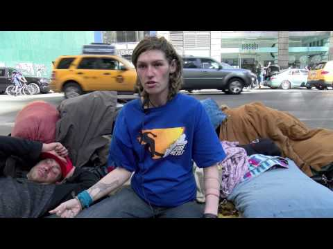Homeless family from Long Island, NY tell their story. 4 months pregnant
