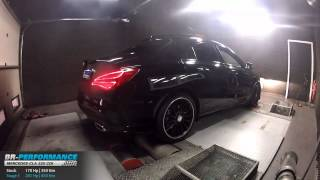 Reprogrammation Moteur Mercedes CLA 220 CDI 170hp @ 201hp par BR-Performance