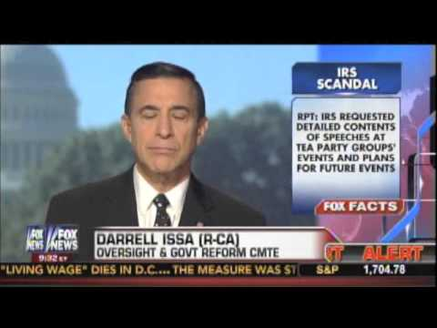 Darrell Issa on House report findings about IRS scandal, September 18 2013