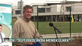 """DK: """"Elit iskolákba menekülnek!"""" 19-09-17"""
