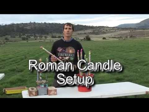 2 Roman Candle Safety