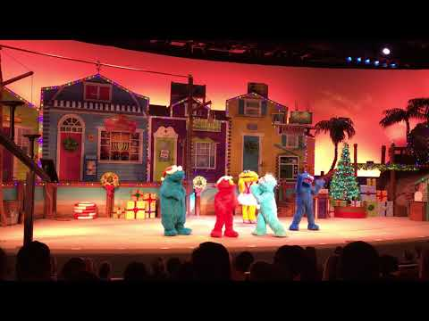Elmo's christmas Wish SeaWorld Orlando 2017
