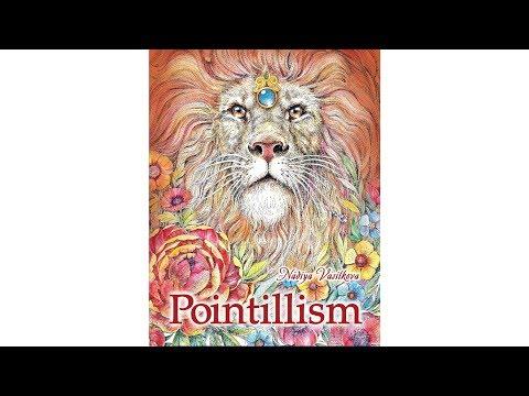 art book POINTILLISM Nadiya Vasilkova