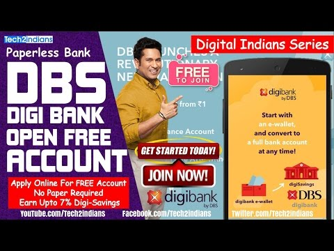 Open FREE DBS Bank Account | Mobile Bank | Earn Upto 7% | Get 250 Rs Gift | FREE ATM Card