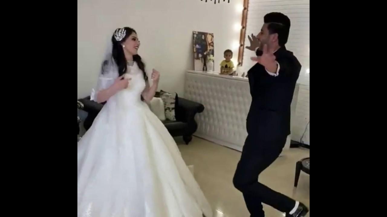 عروستنا بدر منور و عريسنا ما شاء الله عليه