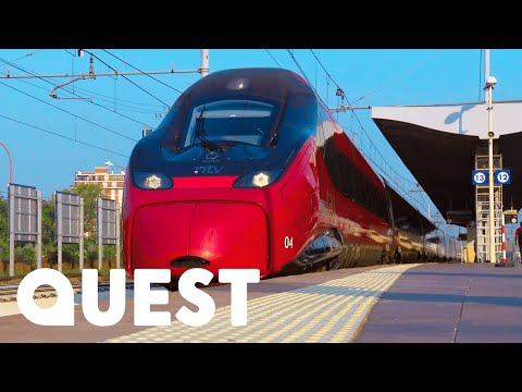 The Italian High-Speed Train Inspired By Italian Sports Car Heritage   Mighty Trains