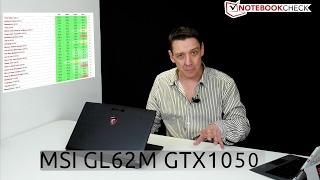 MSI GL62M budget gaming laptop review score 78 / 100