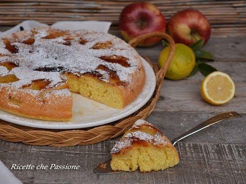 Torta di mele in padella - Senza burro ricetta veloce e soffice - Ricette che Passione