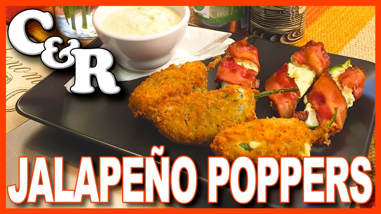 Jalapeño Poppers - Baked & Deep Fried Recipe - Cook & Review Ep #44