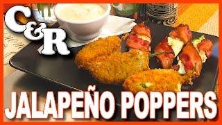 Jalapeño Poppers - Baked & Deep Fried Recipe
