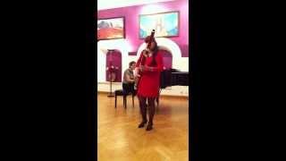 Fedorova Daria, bassoon. Tarantella, Milde.