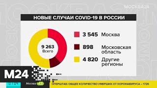 Как развивается ситуация с COVID-19 в регионах России и мире - Москва 24