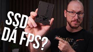 SSD dá FPS? Colocamos dois PCs idênticos para tirar a prova contra um HD!