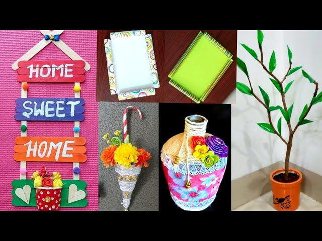 5 Amazing Diy Room Decor Ideas From Waste Material