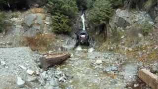 Water Fall Rock Crawling Fail
