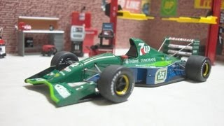 TAMEO 1:43 JORDAN FORD 191 BELGIAN GP 1991 #32 M.Schumacher F1 debut thumbnail