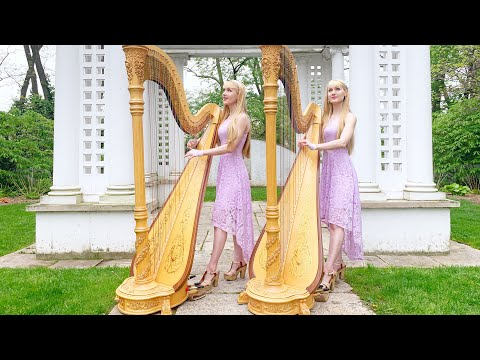 in-the-garden-(harps-and-vocals)---harp-twins,-camille-and-kennerly