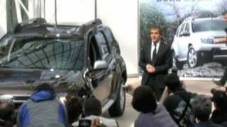 Dacia Duster presented by Alain Prost