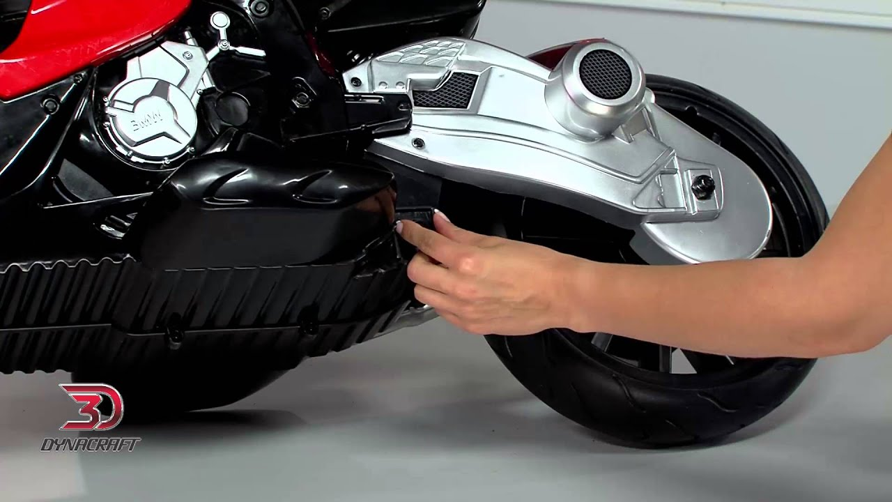 dynacraft bmw 6v s1000rr motorcycle - youtube