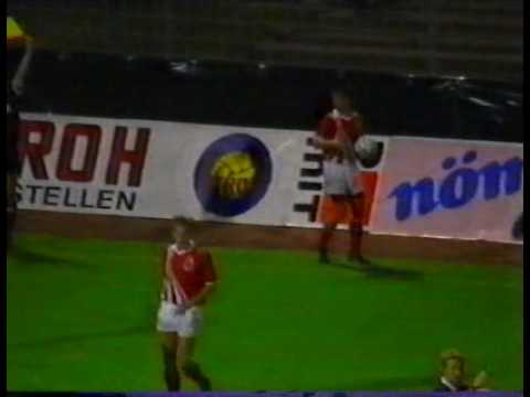 30 years ago today, the Faroe Islands upset Austria in a 1-0 win in their first ever competitive match