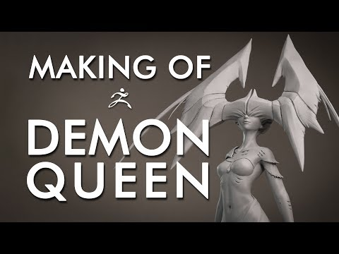 """Making of"" de la figurine Demon Queen : ZBrush et impression 3D"