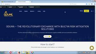 ODUWA Coin - запущена биржа обмена - новости проекта