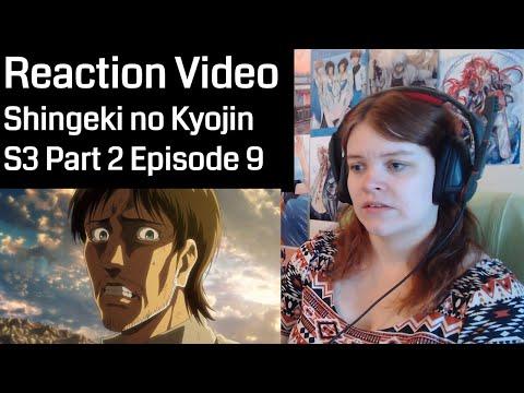 Repeat Shingeki no Kyojin Season 3 Part 2 Episode 9 Reaction by