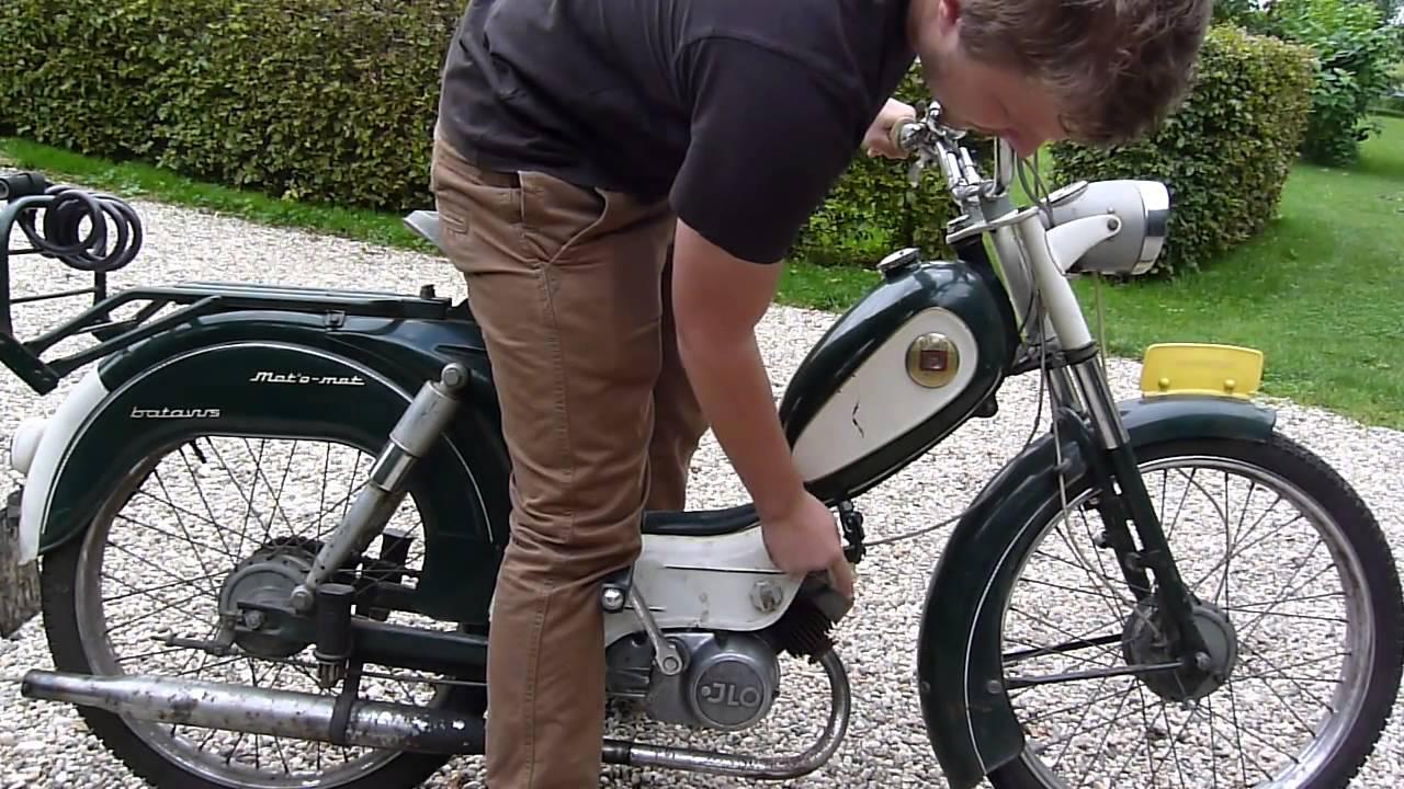 Dutch Starting The Batavus Moped W Jlo Ga50bs2 Youtube