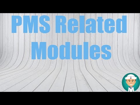 PMS Related Modules