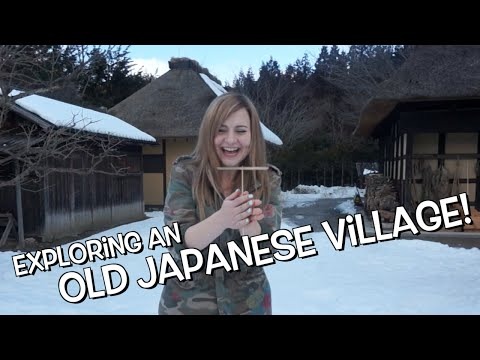 Exploring an Old Japanese Village | Tono Furusato Village, Iwate